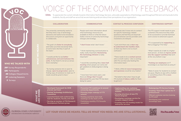 Voices Infographic