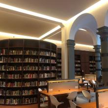 View of FSU Florence library, a hub of activity within the study center