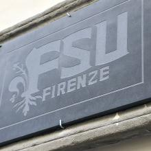 FSU Firenze building sign on FSU Florence study center